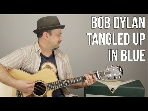 Bob Dylan - Tangled Up In Blue - Easy Songs For Acoustic Guitar - Guitar Lesson