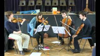 Symlog Vale. Music  for String Quartet by Dylan Cairns-Howarth. Brodowski Quartet.