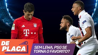 Sem LEWANDOWSKI, PSG é FAVORITO contra o BAYERN de MUNIQUE na CHAMPIONS LEAGUE?