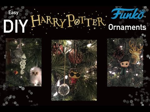 Easy DIY Harry Potter Funko Pop Ornaments