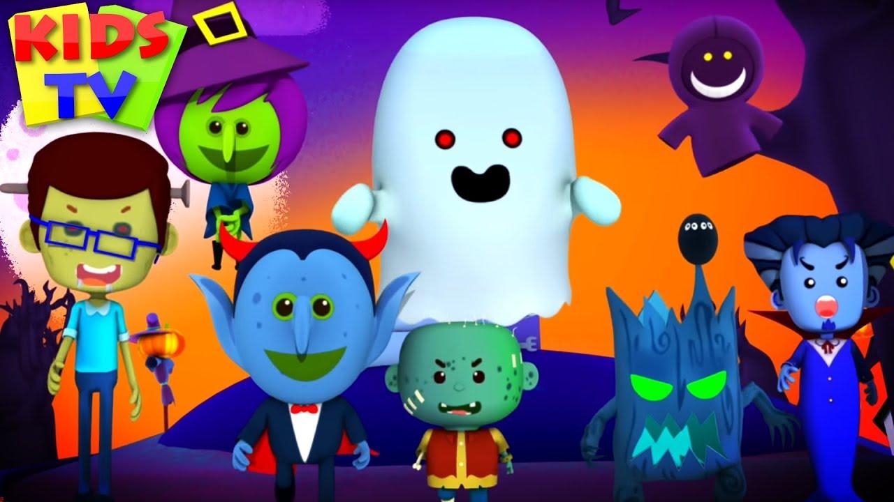 You Cant Run its Halloween - Songs for Kids & Little Eddie Nursery Rhymes