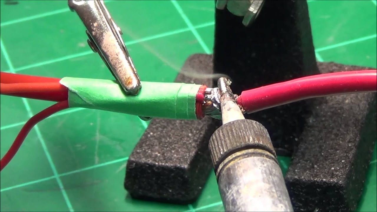 How To Solder Two Small Wires To A Larger Wire - Youtube-9292