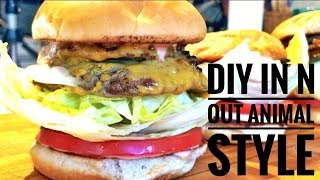 IN N OUT COPYCAT HOMEMADE - HOOK UP STORYTIME
