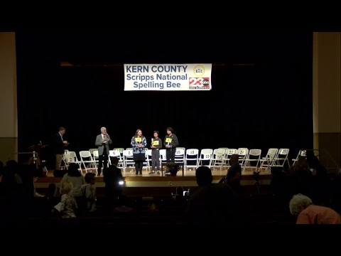 2018 Kern County Scripps National Spelling Bee