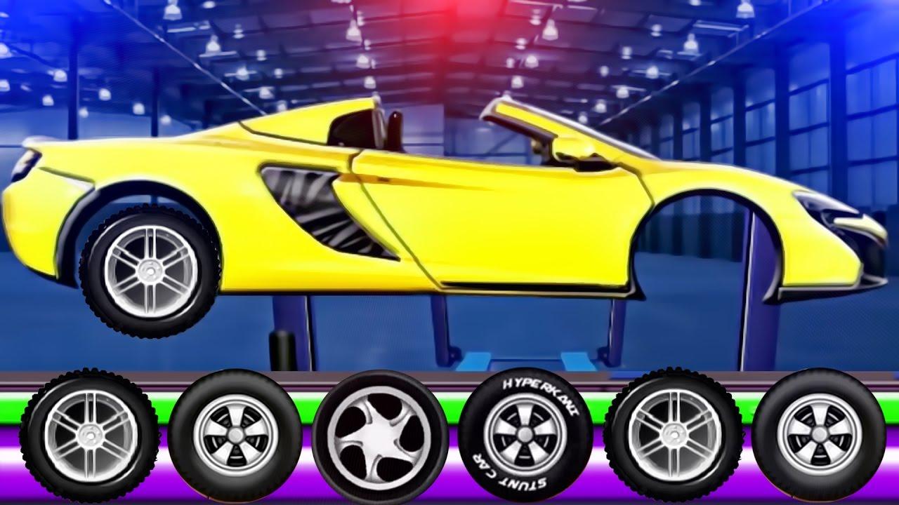 sports car factory videos for kids videos for children sport car for kids game app kids