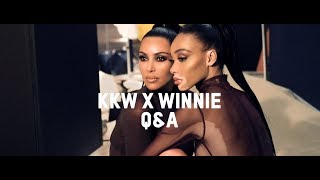 Q&A with Kim Kardashian West & Winnie Harlow | KKW Beauty