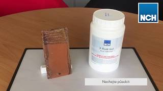 Jak odstranit rez - aplikace výrobku X Rust Gel