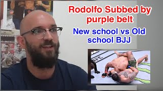 BJJ world Champion Rodolfo Vieira gets submitted by a purple belt in MMA | Limitations of BJJ | Stro