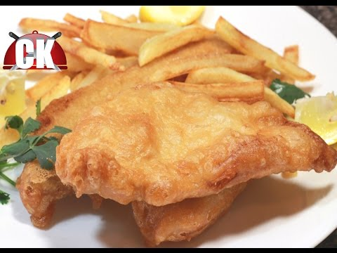 Fish And Chips Recipe - Chef Kendra's Easy Cooking!