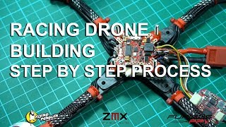 Racing drone building, step by step process (English version)