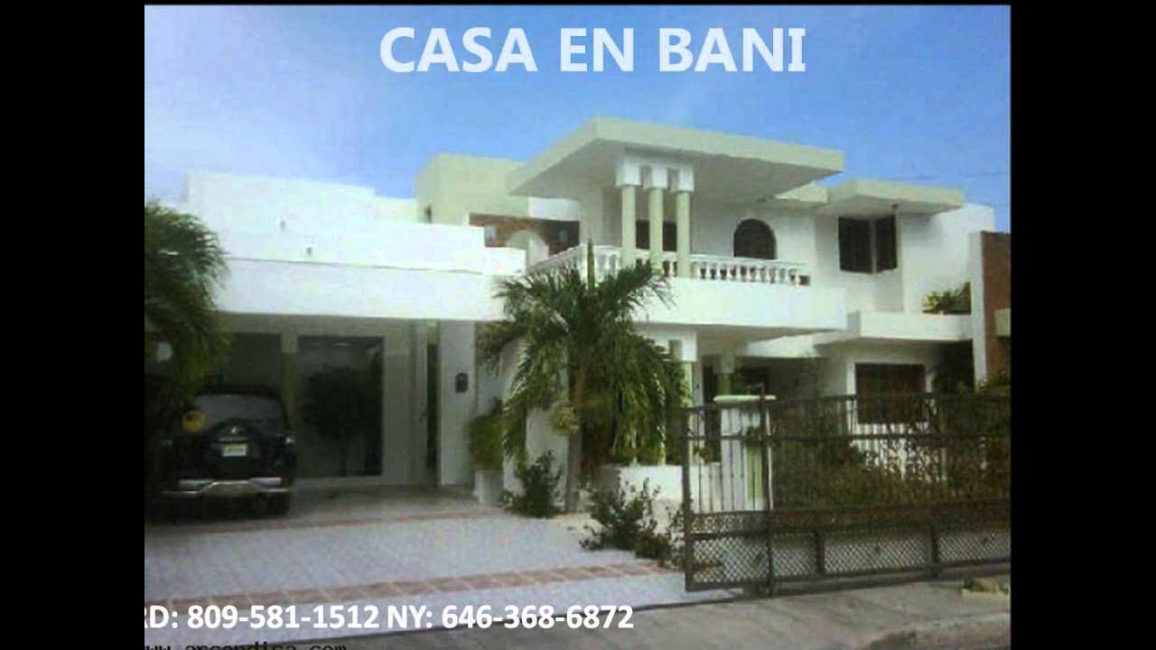 Casas En Bani Republica Dominicana Youtube