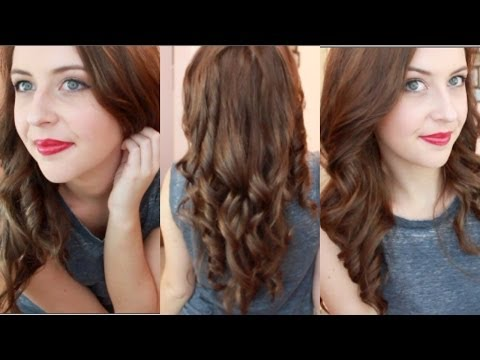How To Curl Your Hair With Straightener