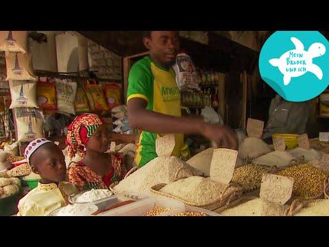 Stadtausflug nach Stone Town | Mein Bruder und ich in Sansibar | SWR Kindernetz
