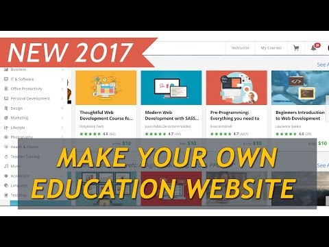 How to make an Education WordPress Website 2017 (Install, Setup and Customize Education WP)