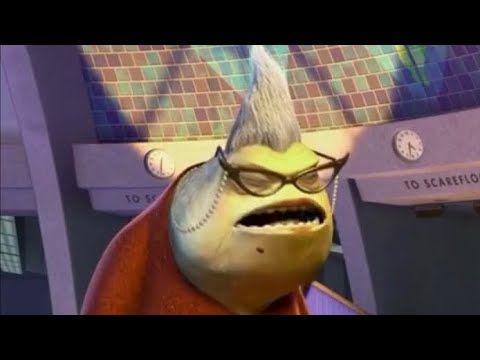 Monsters Inc But It S Just Roz Youtube