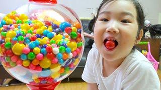 Boram e Histórias para crianças sobre doces, balas e cores🍭🍬 🍎