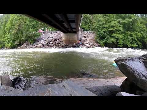 JACKSON ROCKSTAR 4.0- Ocoee River- Hell Hole- First two days!!!!