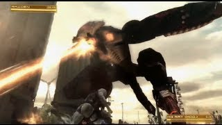Metal Gear Rising Revengeance Metal Gear Ray Boss Battle Gameplay【HD】