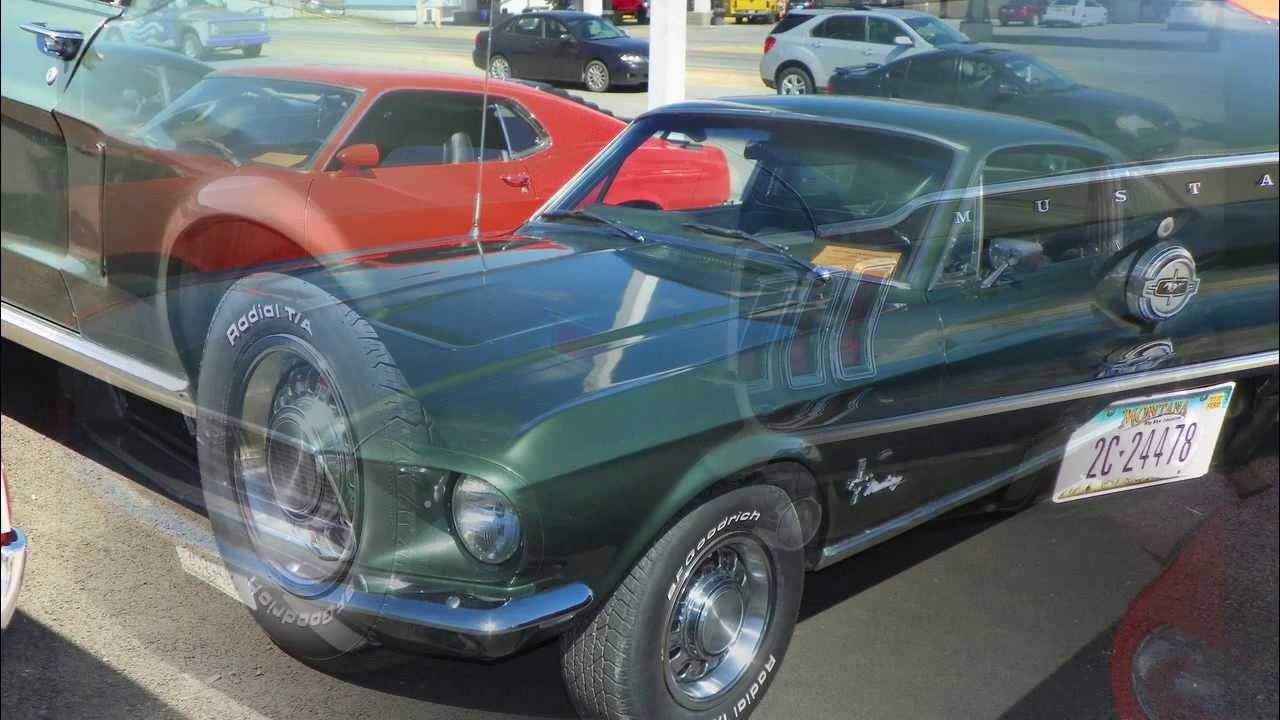 Treasure state mustangs specialty ford club show youtube for Bison motors great falls