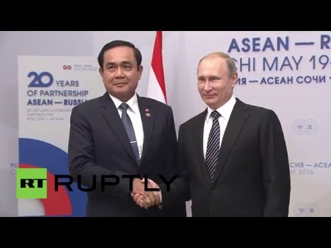 Russia: Thai PM thanks Putin for Russian support at ASEAN su