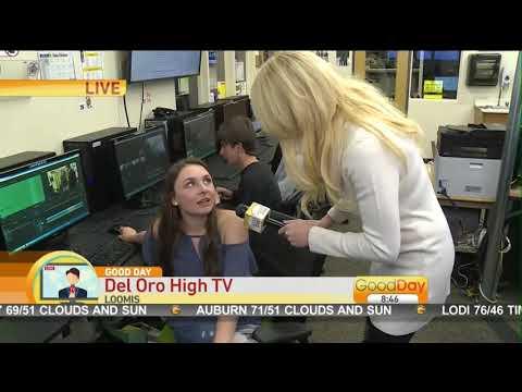 Del Oro High School on Good Day Sacramento April 4th, 2018