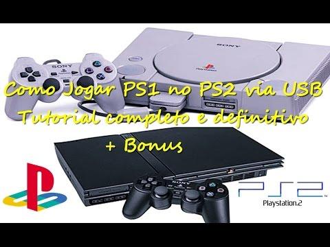 Exclusivo como Jogar PS1 no PS2 via USB (POPstarter)Tutorial completo e definitivo + Bonus 2017