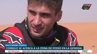 DAKAR 2020: Cornejo a dos segundos de entrar a zona de podio en motos
