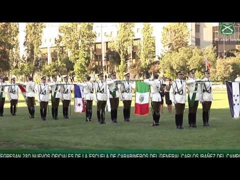 Egresan 280 nuevos Oficiales de la Escuela de Carabineros Carlos Ibañez del Campo