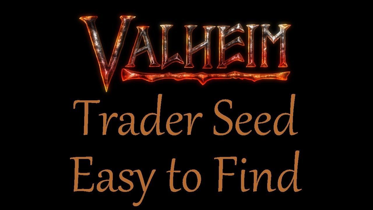 Valheim Trader World Seed  - Easy to Find Trader