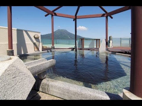 Tour of Luxurious Akan Yuku No Sato Tsuruga Hotel