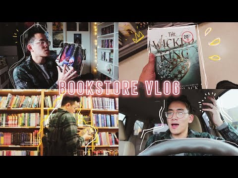 come to the bookstore with me to rid 40+ books unhaul type of vlog