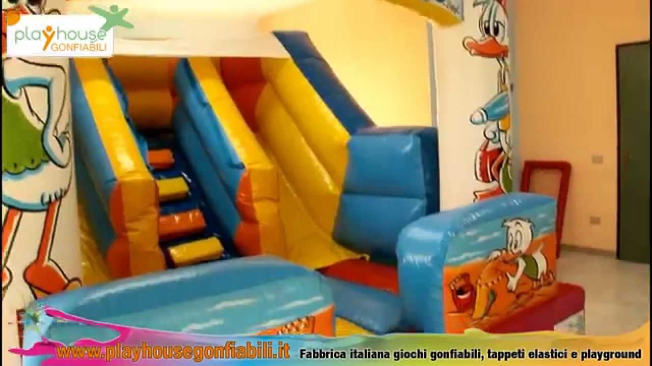 Giochi gonfiabili scivolo gonfiabile per bambini youtube - Casa gonfiabile per bambini ...