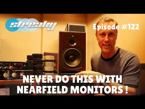 NEVER DO THIS WITH NEARFIELD MONITORS !