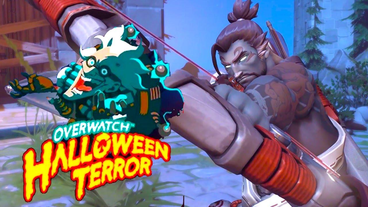 Overwatch - Halloween Terror Seasonal Event Trailer - YouTube