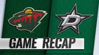 Wild score three in the 3rd to beat Stars