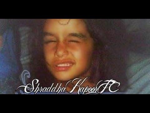 ACTRESS SHRADDHA KAPOOR CHILDHOOD PHOTOS - YouTube