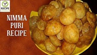 How To Make Nimma Puri | Aaha Emi Ruchi | Udaya Bhanu | Recipe | Online Kitchen
