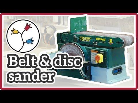 BELT SANDER + DISC SANDER Record Power BDS 250 – UNBOXING & FIRST LOOK