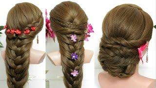 3 hairstyles for long hair tutorial