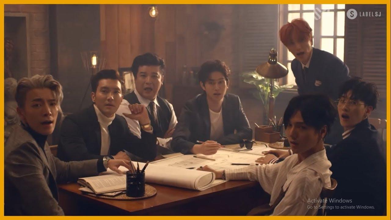 Super Junior 슈퍼주니어 - Black Suit [1080p] [60fps]