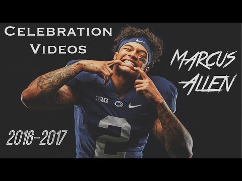Marcus Allen Post Game Celebration Video Compilation || Penn State Football 2016 - 2017