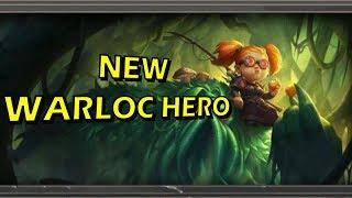 Hearthstone - New Warlock Hero Announced, Nemsy Necrofizzle