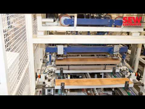 Laminate Flooring Panels | Classen Industries (english) | SEW-EURODRIVE