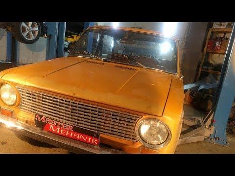 Фанта 21013 - Замена переднего подвесона, шинка в автосфере !!