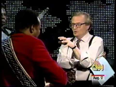 George Benson  - CNN Interview  w/ Larry King 1996