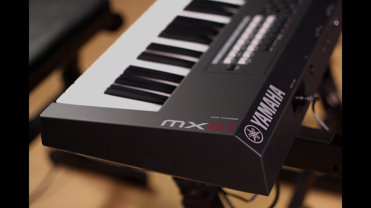 yamaha mx61 music synthesizer demo with cubase integration youtube. Black Bedroom Furniture Sets. Home Design Ideas