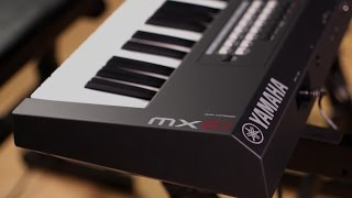 Yamaha MX61 Music Synthesizer Demo with Cubase Integration