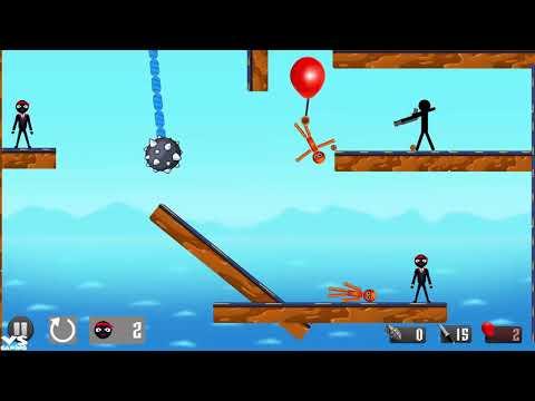 Stickman Destruction Warrior 2 |  Stickman Shooting - Android GamePlay 2018 NEw Game Ep3