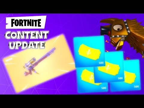 FORTNITE PvE : Daily Llama Opening ~ V.5.10 Content Update & TRIPLE LLAMA HYPE! = 5000 Tickets!