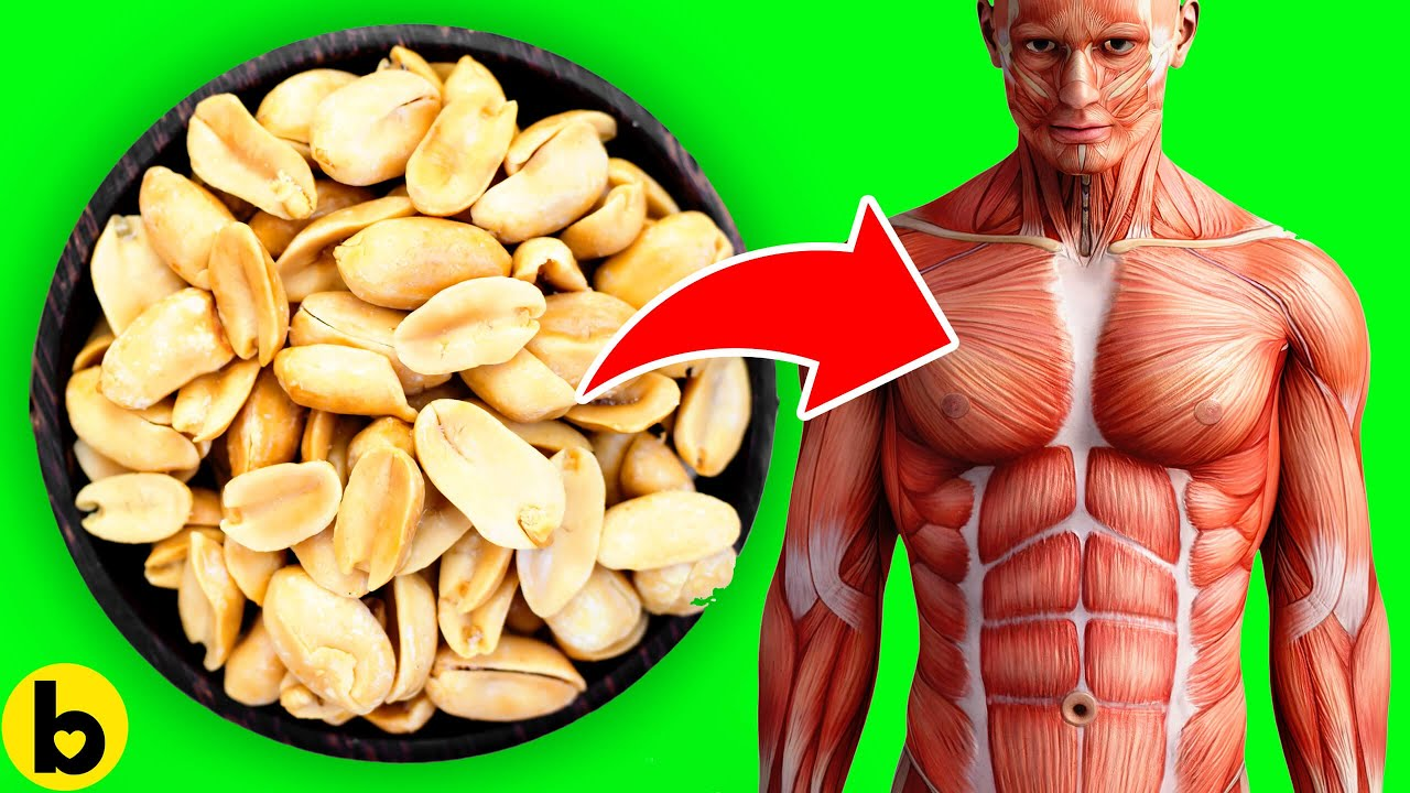 Eat Peanuts Every Day and see how your Body Changes